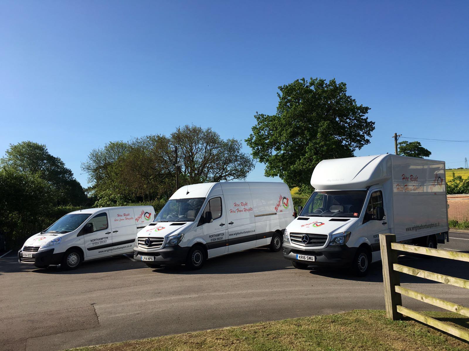 Wrights van hire northampton