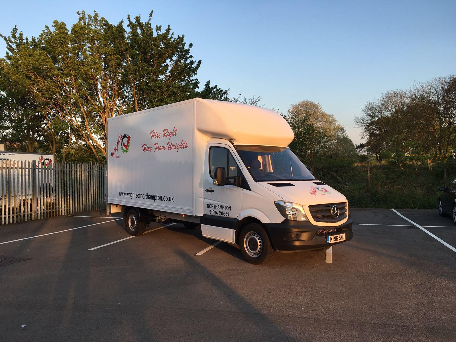 Large van for hire Northampton