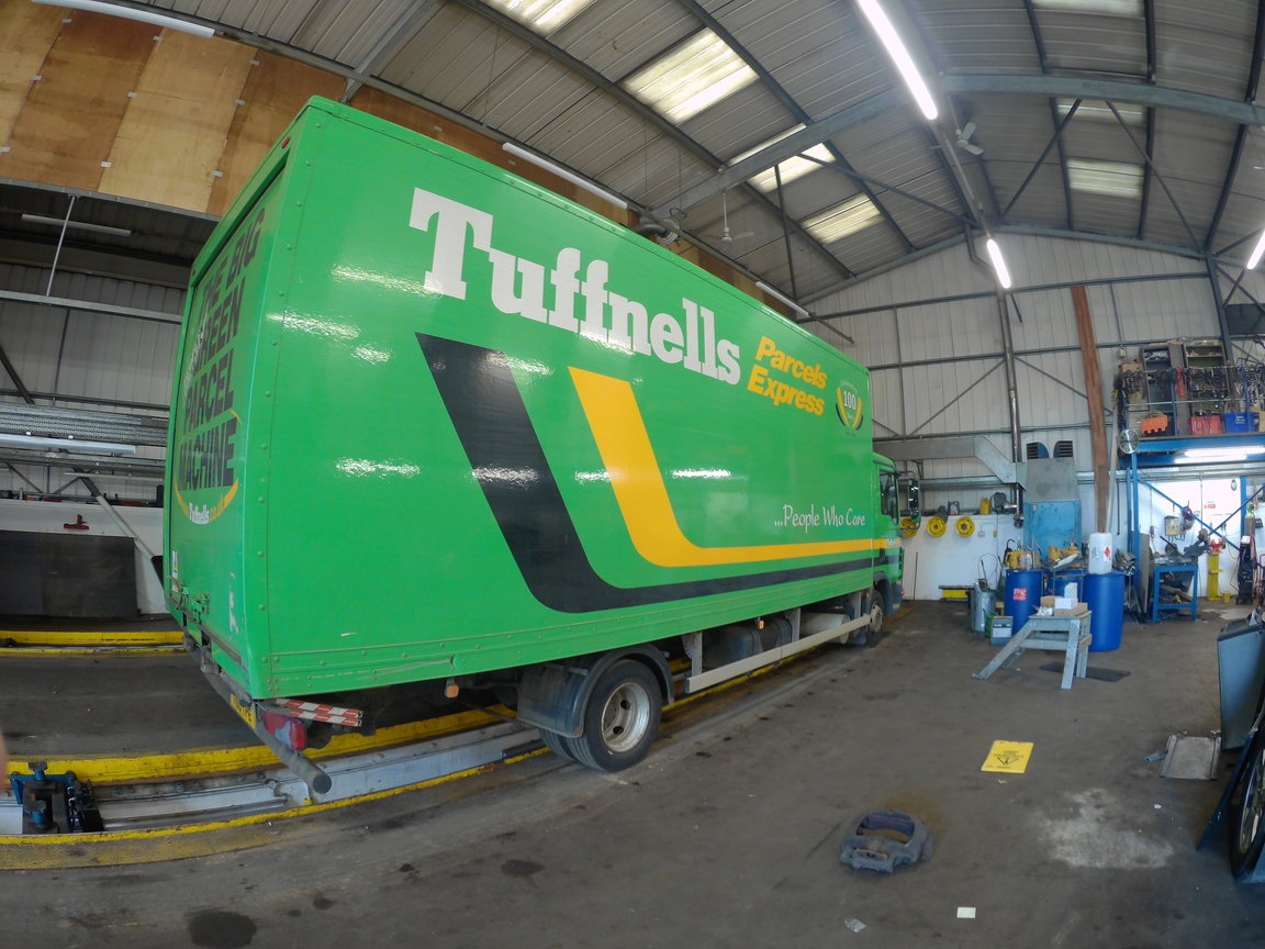 Commercial vehicle repairs in Northampton